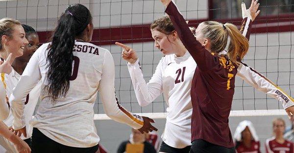 Gophers Remain Undefated with Two More Sweeps at Diet Coke Classic