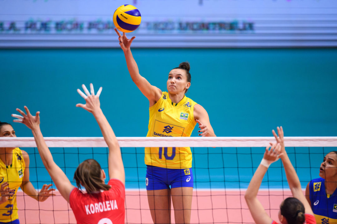 Turkey, China, Brazil Win on Day 1 of 2018 Montreux Volley Masters