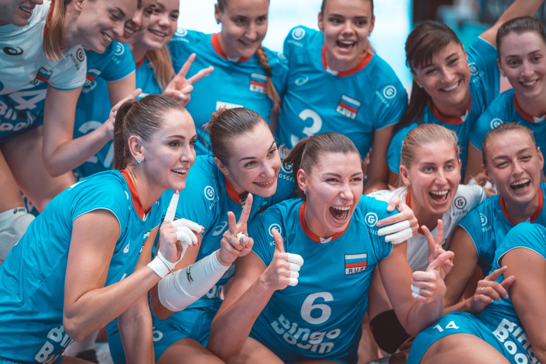 Russia Continues 'Musical Setters' in 3-0 Sweep of Poland to Advance