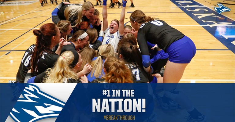 Nebraska-Kearney Takes Over #1 Spot in AVCA Division II Poll