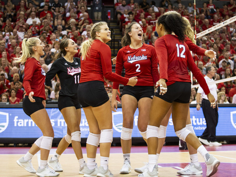 #8 Huskers Rally From Down 2-0 to Edge #14 Creighton in Five