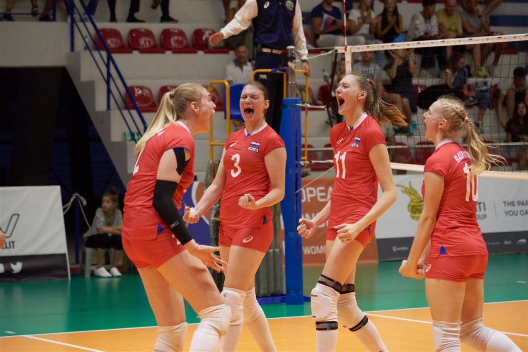 Russia And Italy Move On To #EuroVolleyU19W Finals