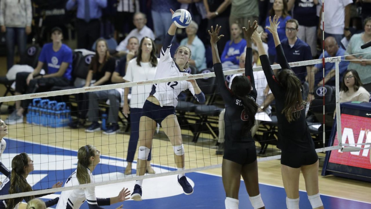BYU's Jones-Perry Tabbed as WCC Player of the Week