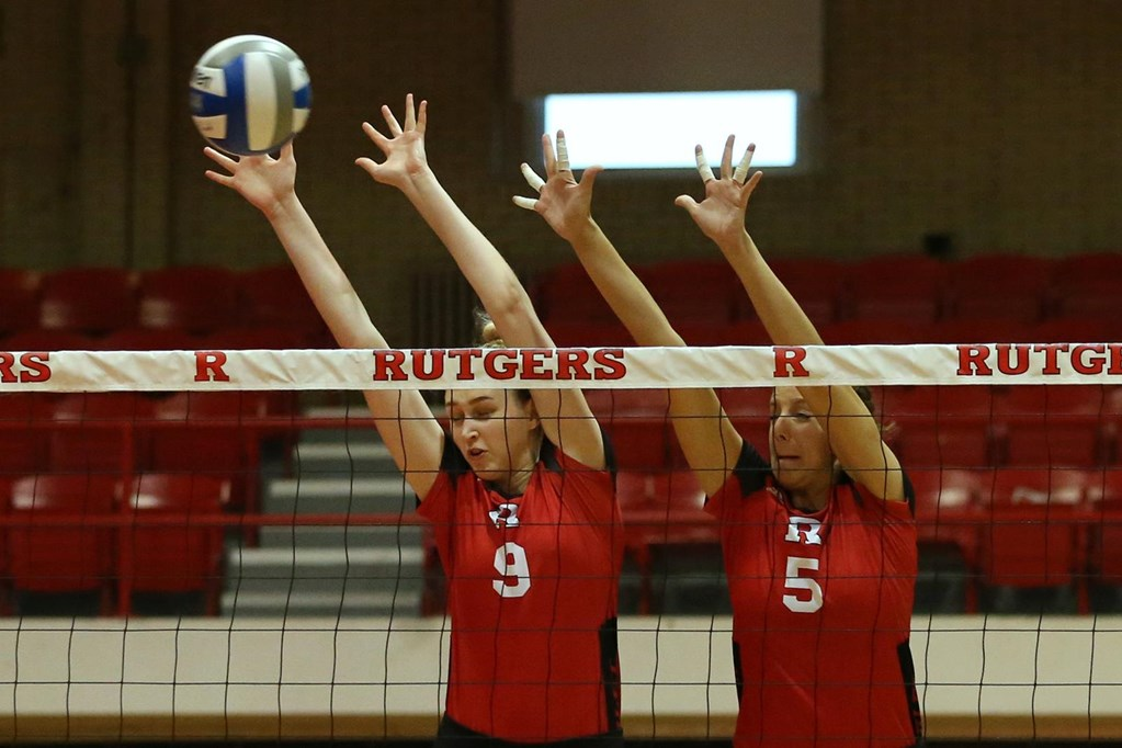 Another Day, Another School Record for Rutgers Volleyball