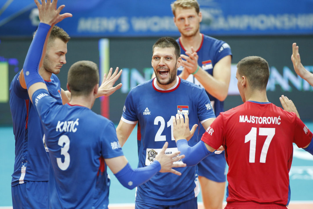 Luburic Paces Serbia in Sweep of Cameroon for First Pool C Win