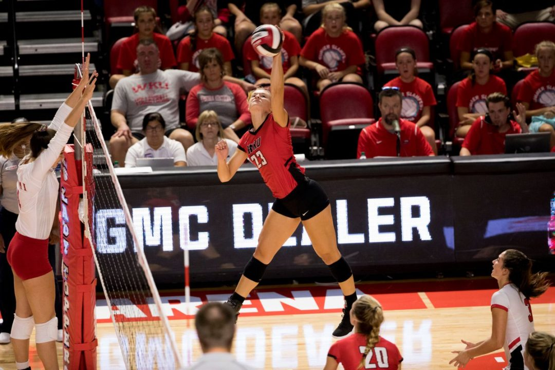 Washington State Suffers First Loss; WKU Wins Tournament Title