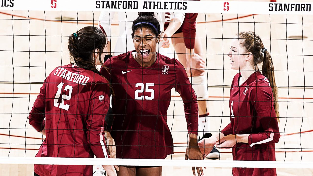 #2 Stanford Handles #16 Washington in Straight Sets