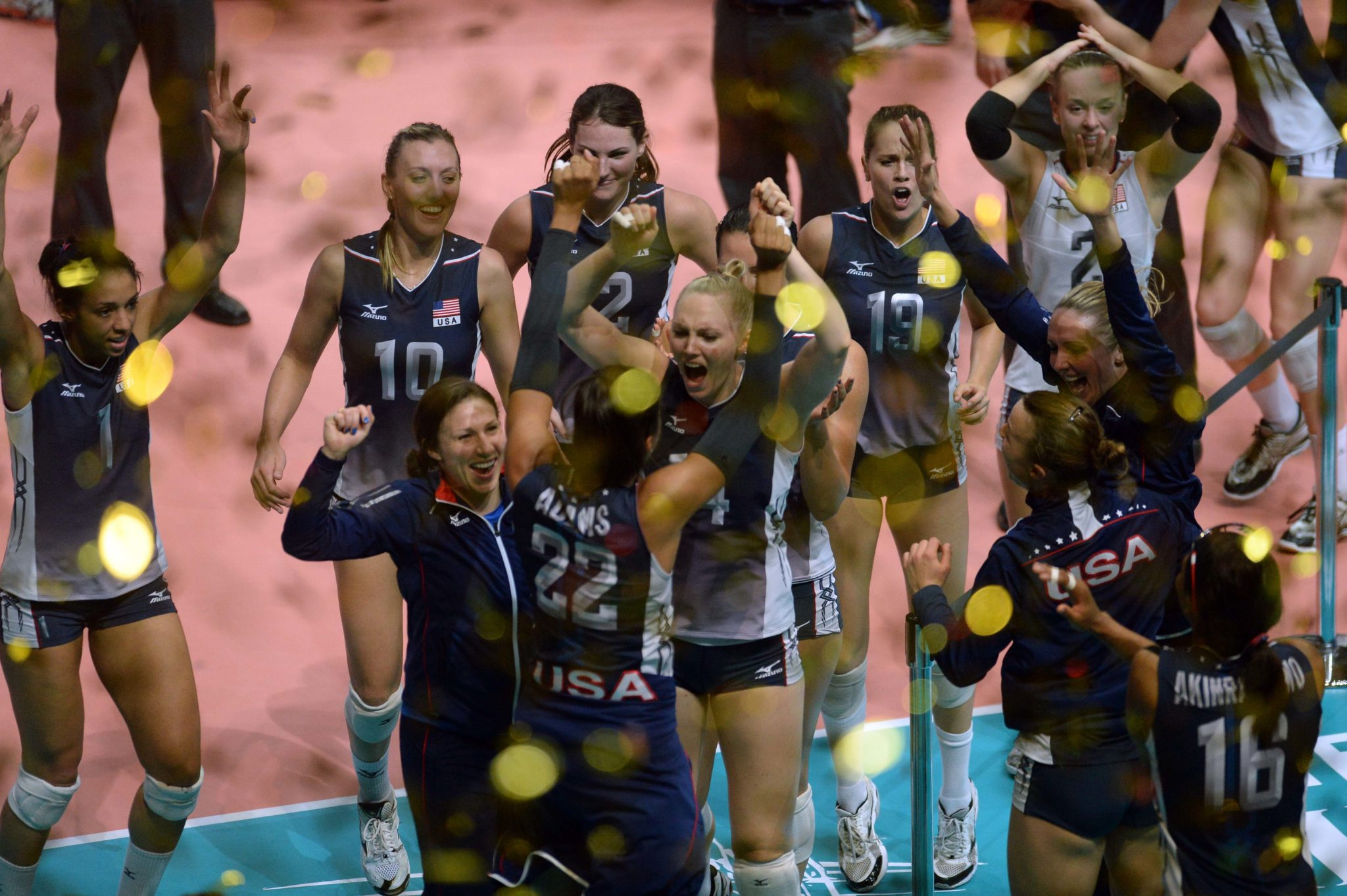 Usa Volleyball Names 2018 Women S World Championship Team