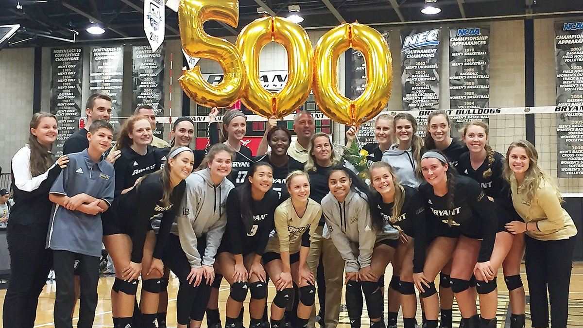 500 Club: Bryant's Theresa Garlacy Notches 500th Win vs. Coppin State