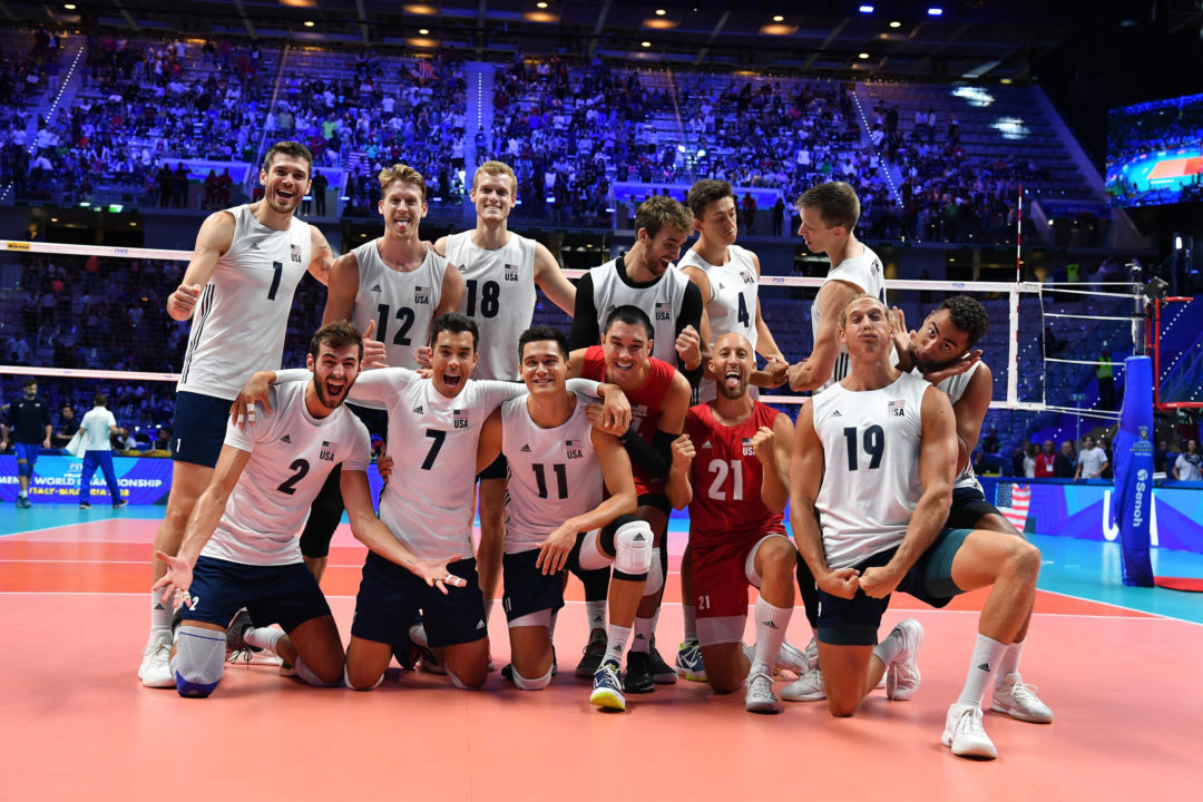 USA Cruises Past Russia, Into #FIVBMensWCH Semis