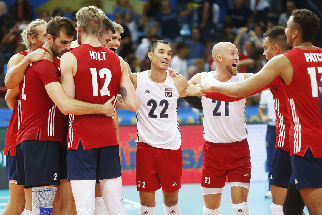 USA Survives; Cameroon, Russia Sweep in #FIVBMensWCH Pool C