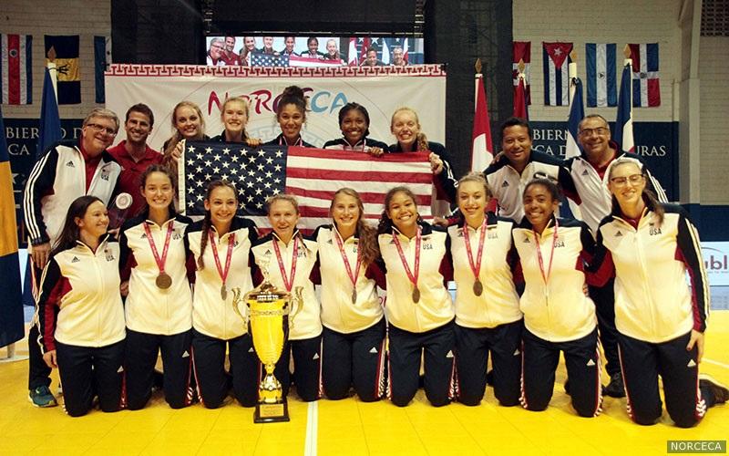 Golden Again! USA Sews Up NORCECA Girls U-18 Title vs. Canada