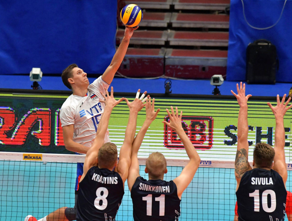 Russia Claims Spot in Worlds Final Six; Italy Closes Round 2 with Win