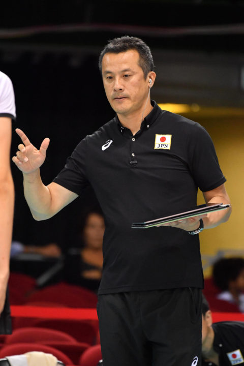 Japan Men's NT Volleyball Coach Will Not Resign