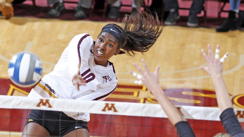Stephanie Samedy Earns AVCA Player of the Week Honors