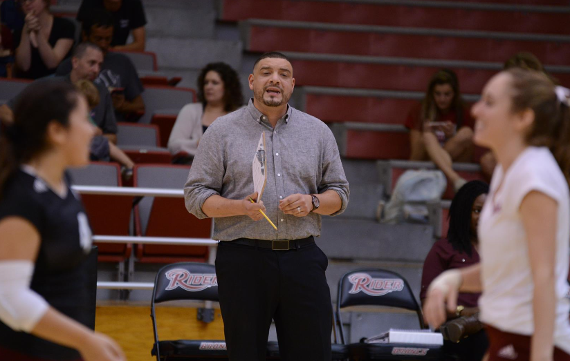 Chris Feliciano Notches 100th Victory At Helm of Rider Volleyball