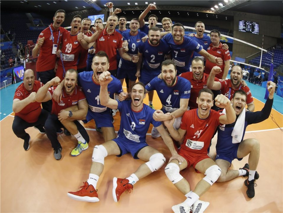 Argentina and Serbia Victorious in 5-Set Matches to Open Pool H