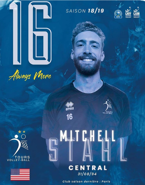 Mitch Stahl Signs With the French Champions