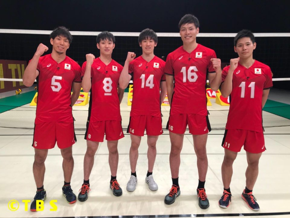 Japanese Men Appear on Taiiku-Kai TV before World Champs