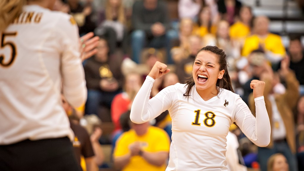 Wyoming's Cori Aafedt Reaches 1,000 Assists Mark
