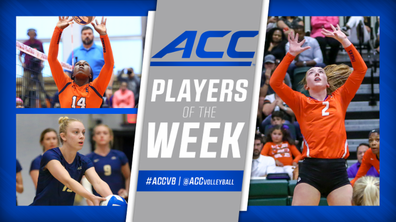 Pitt's Williams, 'Cuse's Trotter, Clemson's Easton Honored by ACC