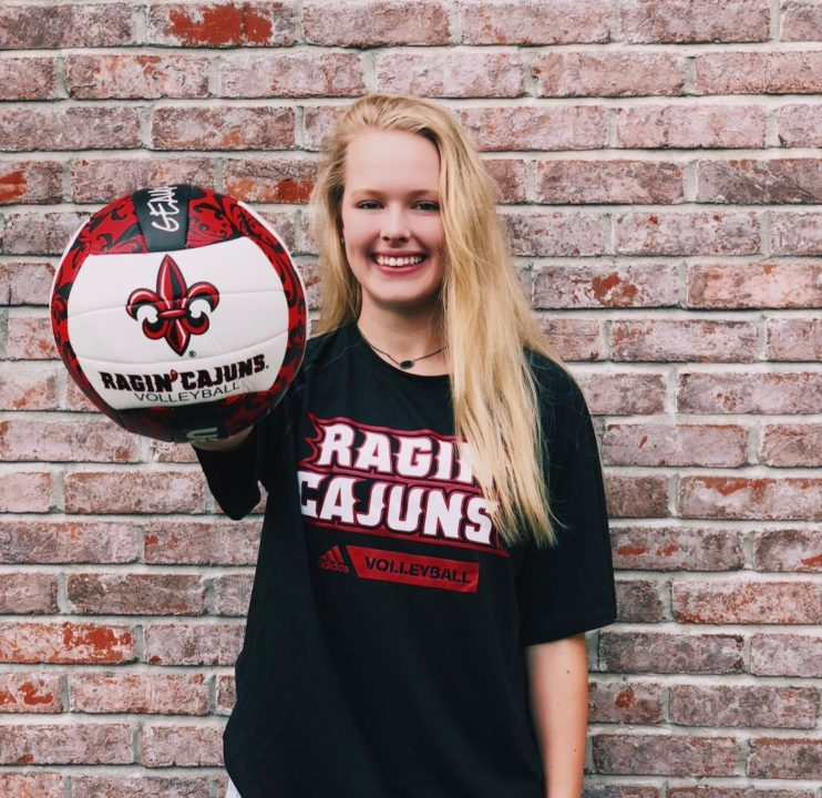 Class of 2020 Setter Abby Lynn Commits to Louisiana