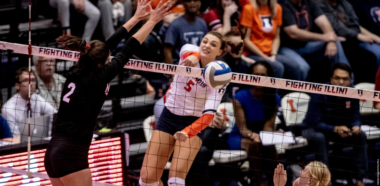 Ali Bastianelli Breaks Big Ten Record for Career Block Assists