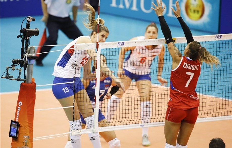 Serbia, Brazil, Dominican Republic Close Out Pool D with Sweeps
