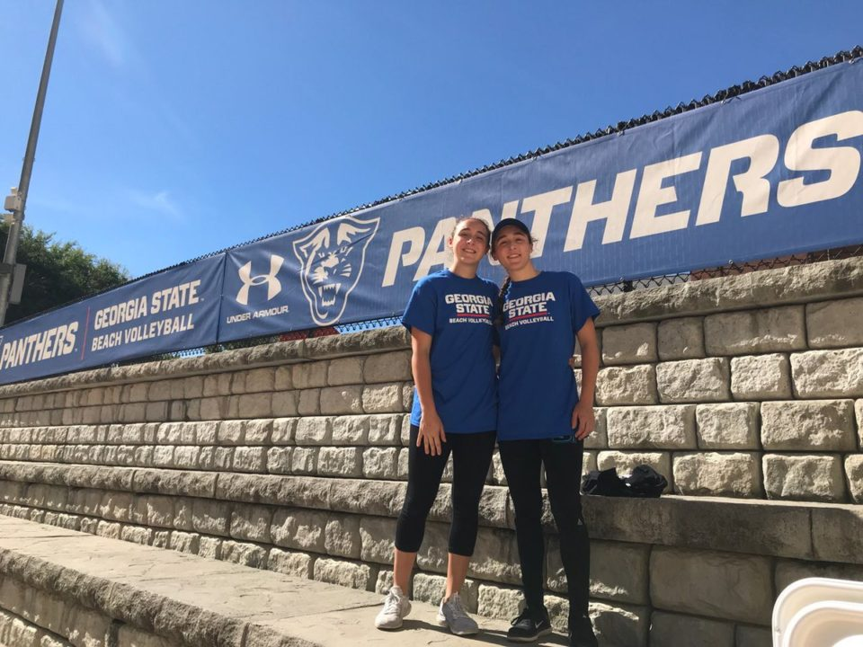 Sisters Angelina & Isabella Ferary Commit to Georgia State Beach