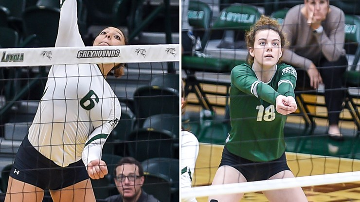 Loyola Maryland's Ernst, Forsythe Sweep Patriot League Honors