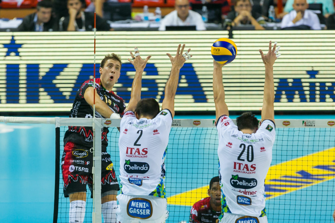 ITA: Perugia Notches Huge Win Against Trentino; Padova Wins