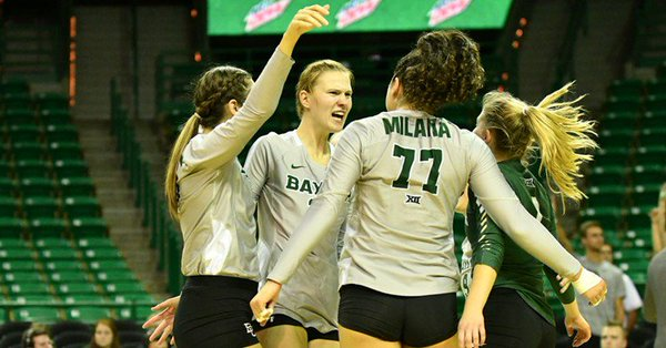 # 24 Baylor, #6 Texas Survive in Five; Kansas Still Unbeaten in Big 12