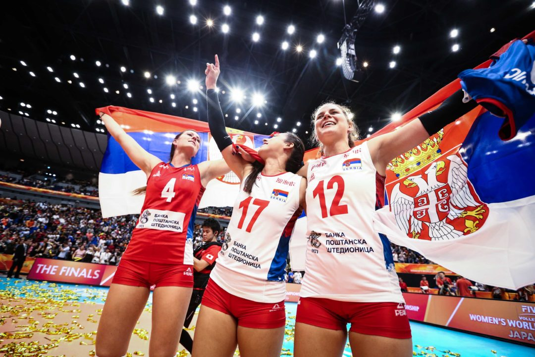 Final Results at the 2018 Women's Volleyball World Championships