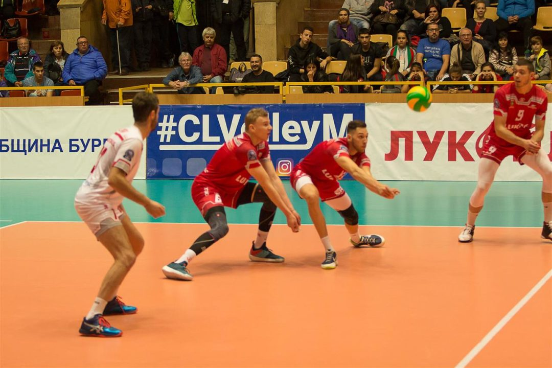 Vojvodina of Serbia Beats Neftohimic in #CLVolleyM