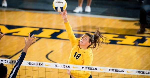 Michigan's Skjodt Earns 2nd-Straight Big Ten Player of the Week Honor