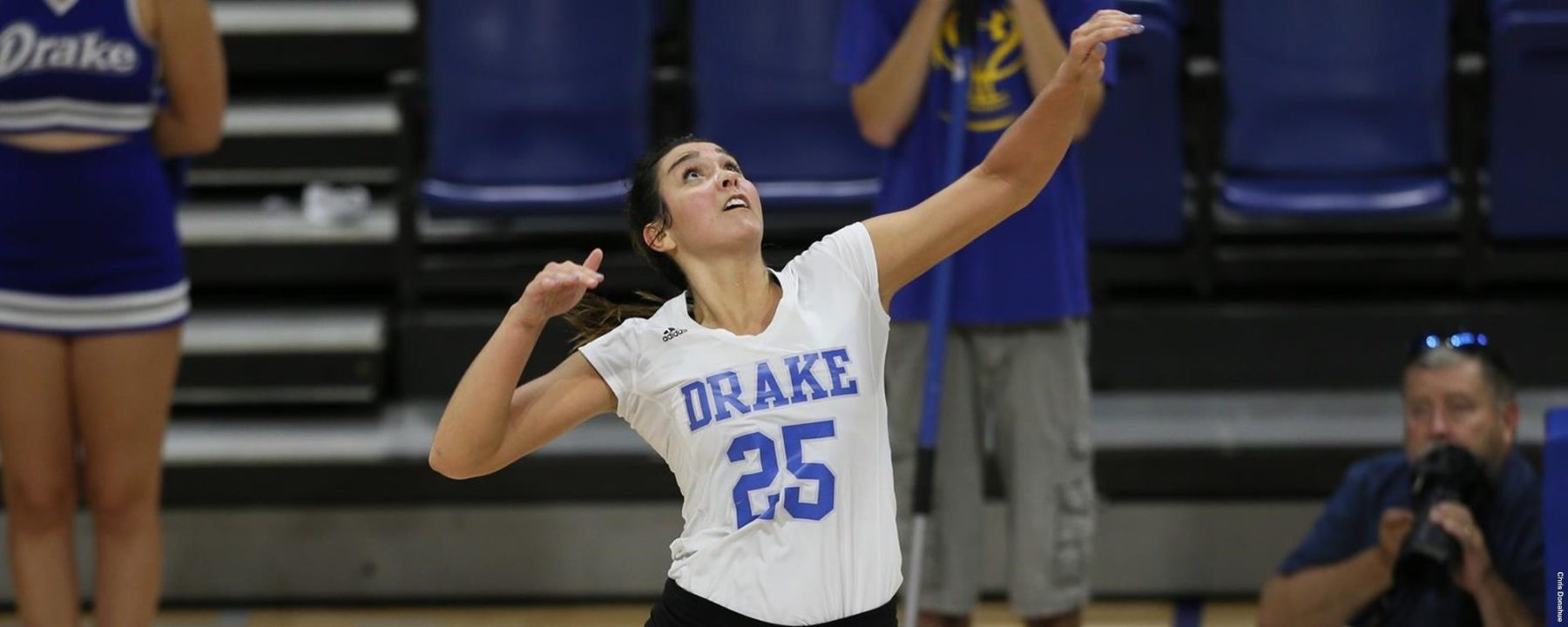 Drake Scrapes by Indiana State; Northern Iowa Sweeps Evansville