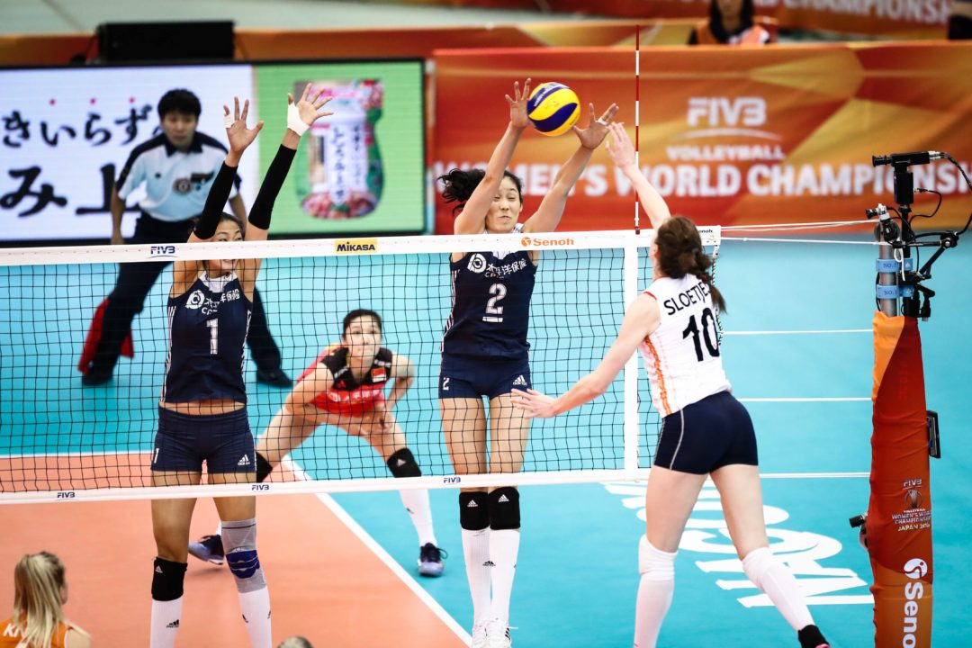 China Owns the Net, Rallies Past Dutch in 4 Sets in Pool H Finale