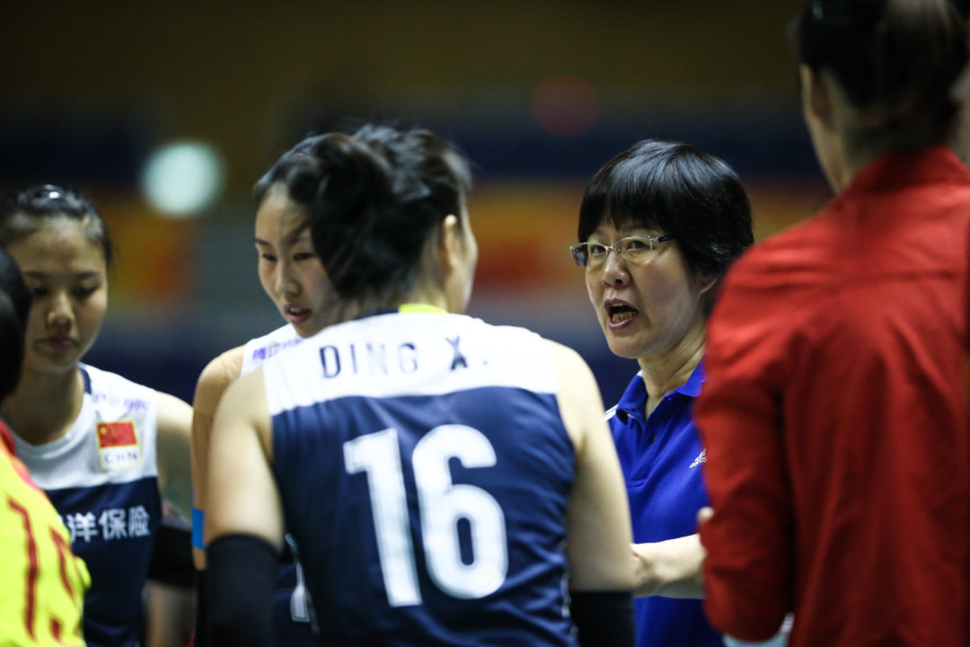 Injury to Ding Xia Muddles China's Setter Situation at World Champs