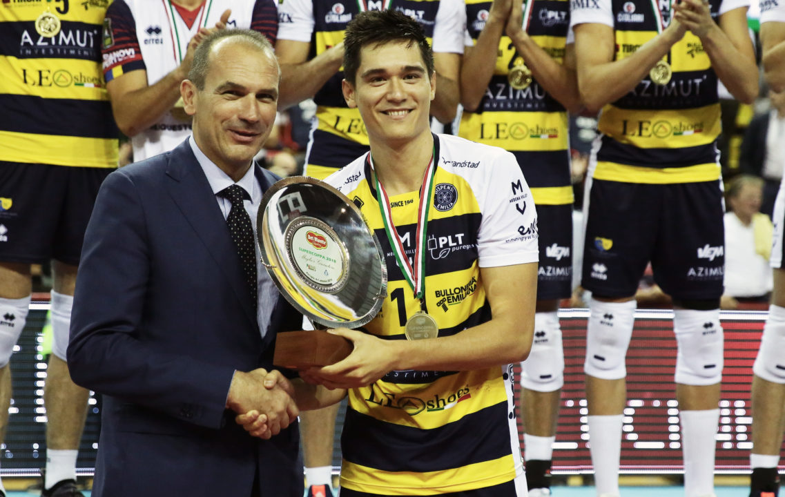 Micah Christenson Named SuperCoppa MVP, Other Stat Leaders Announced