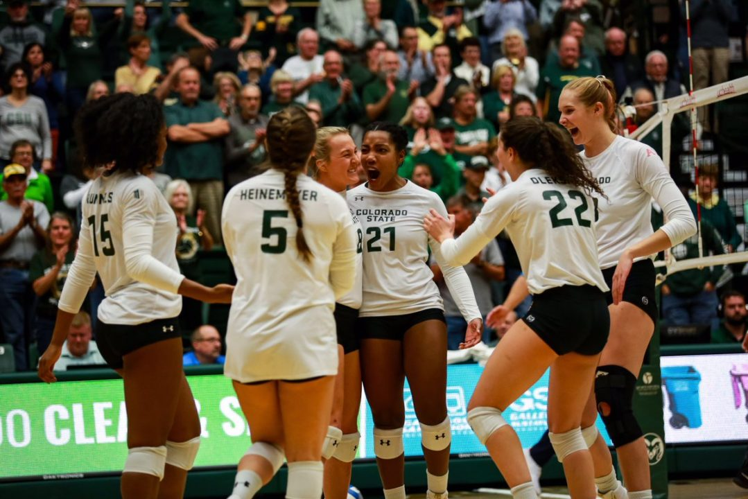 Colorado State Picks Up Four-Set Border War Win Against Wyoming
