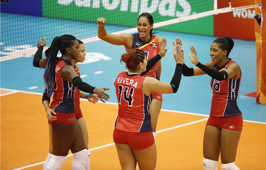 Dominican Republic, Brazil, Serbia Sweep Pool D Action