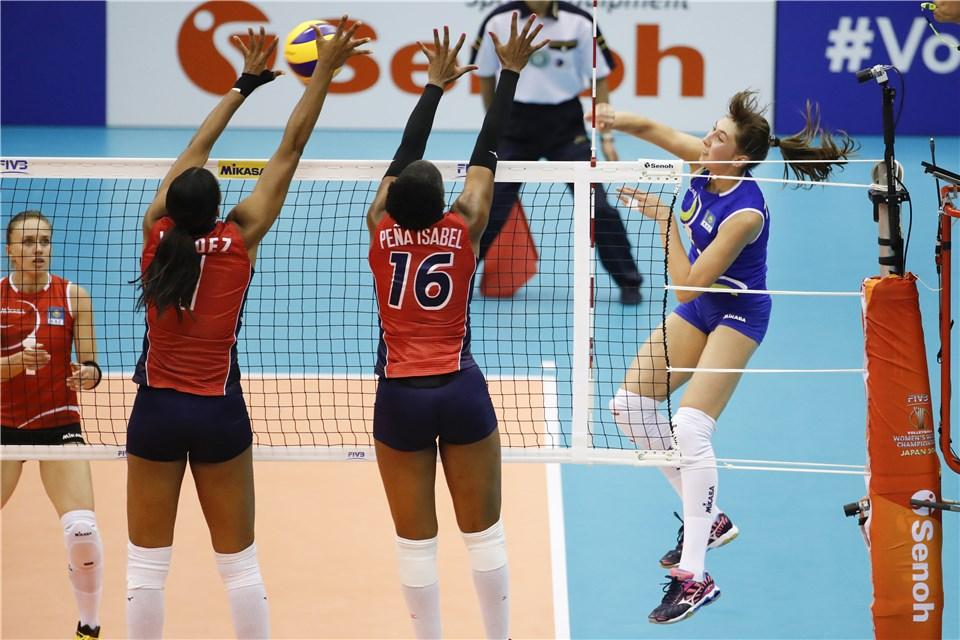 Serbia, Dominican Republic, Puerto Rico Sweep Pool D Action
