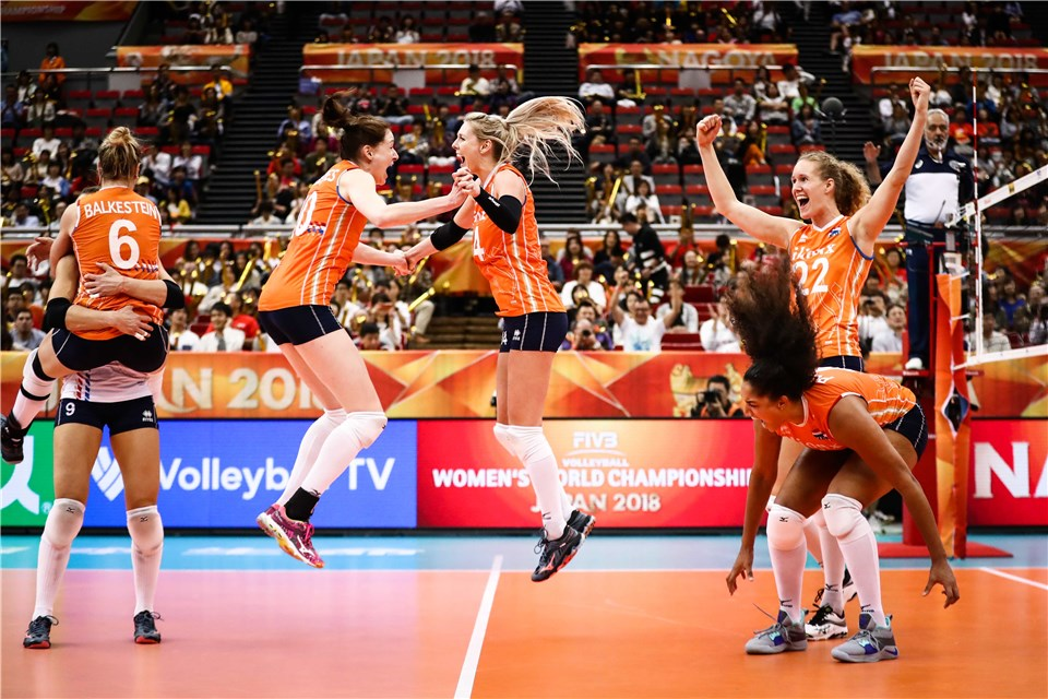 Sloetjes' 38 Points Rally Dutch from Down 2-0 to Eliminate USA from Worlds