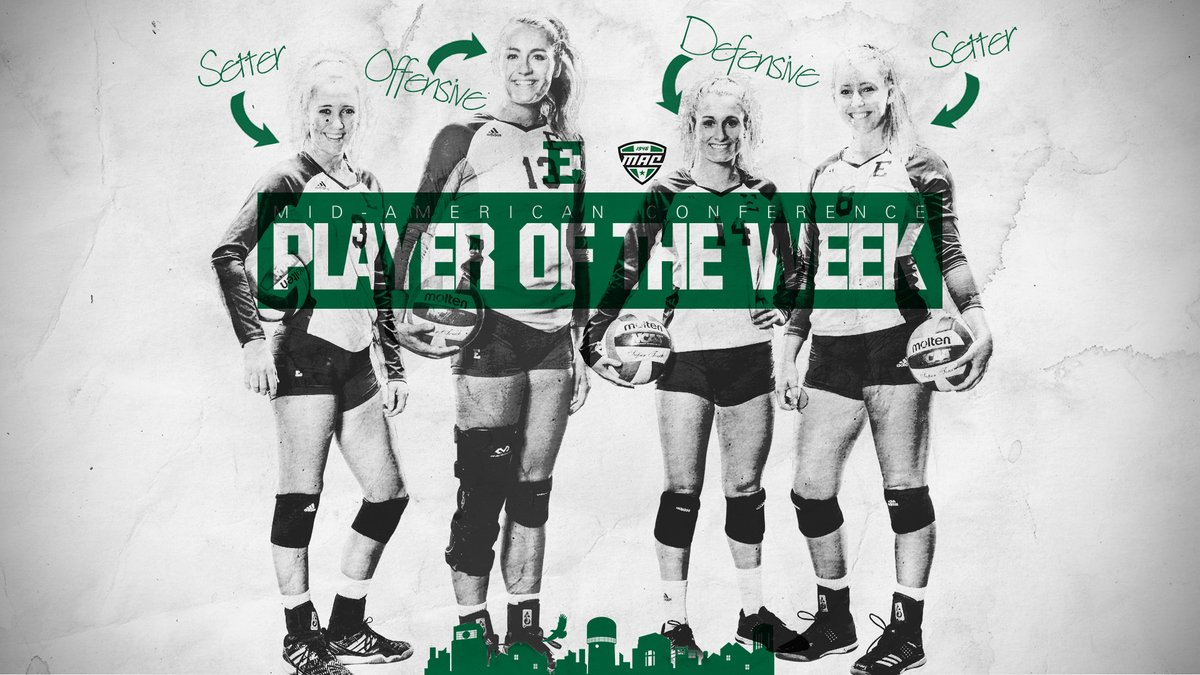 Eastern Michigan Sweeps MAC West Week 9 Honors