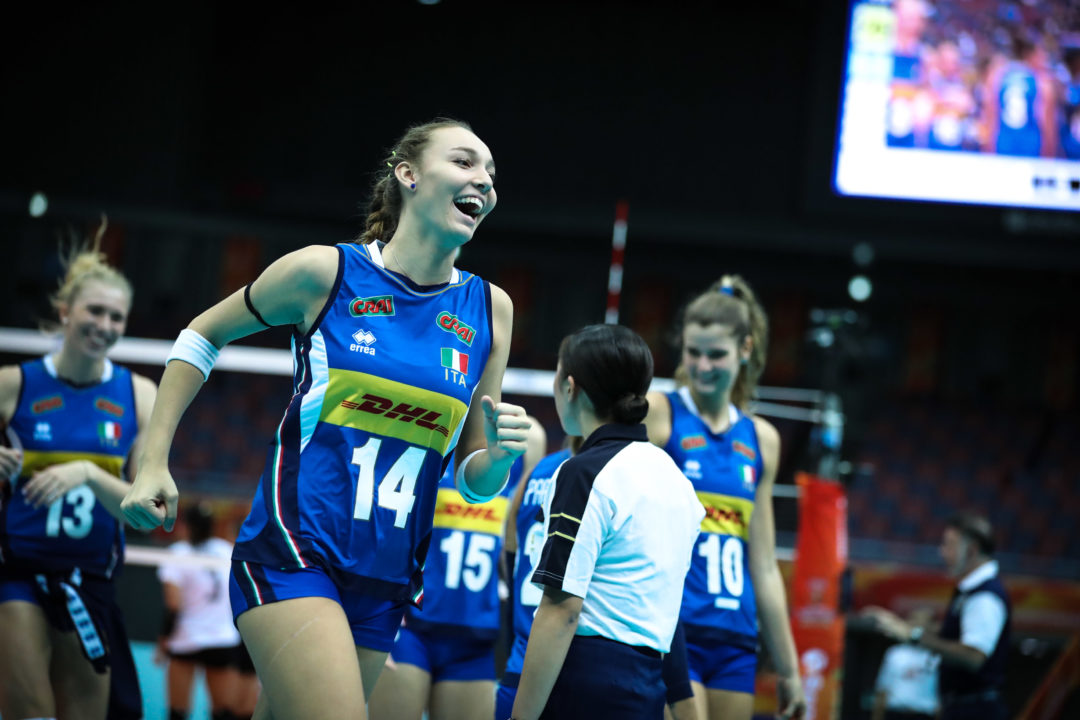 Italy, China Joins Serbia in Final 6; United States Still Not Clinched