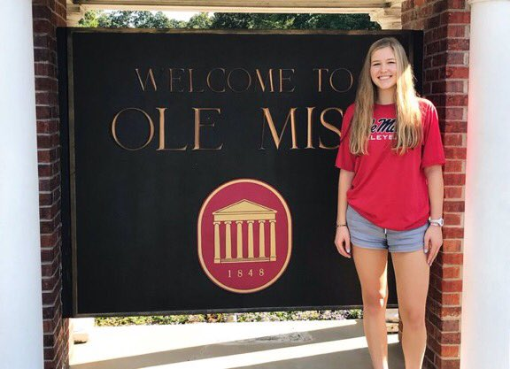 Ole Miss Graduation 2020.Class Of 2020 Ds L Emily Hawes Commits To Ole Miss