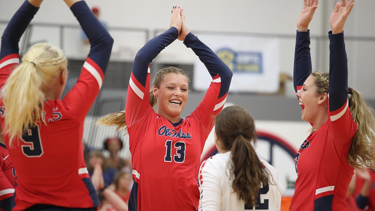 Stroup Racks Up Match-Record 30 Kills as Ole Miss Tops LSU in 5