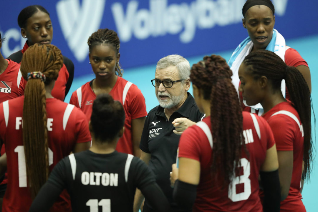 After Historic Run, Trinidad & Tobago Coach Leaves for FIVB Post