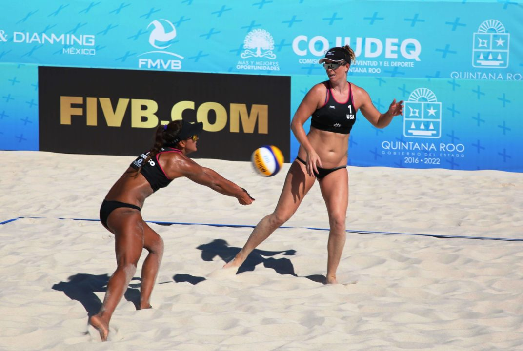 Americans Ledoux/Urango Move into Chetumal Quarterfinals with Two Friday Wins