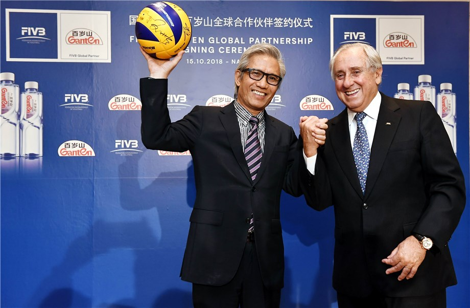 The FIVB Inks Partnership With New Global Sponsor
